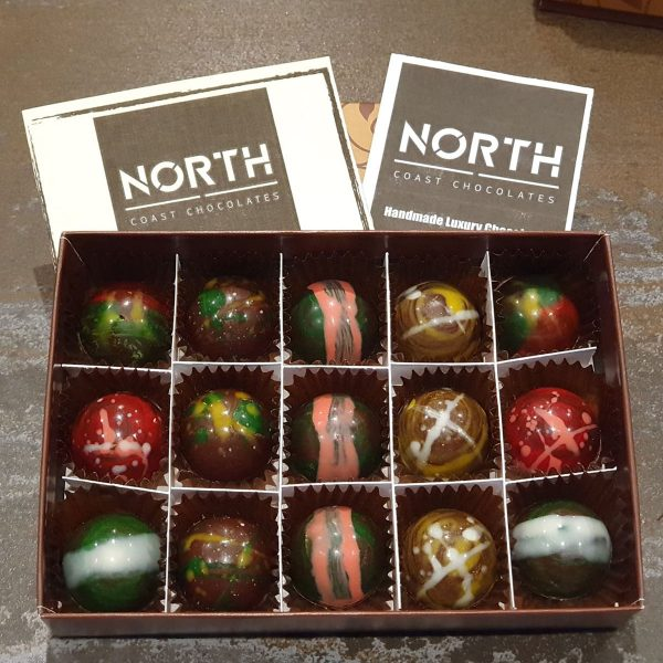 North Coast Chocolates 15 Box